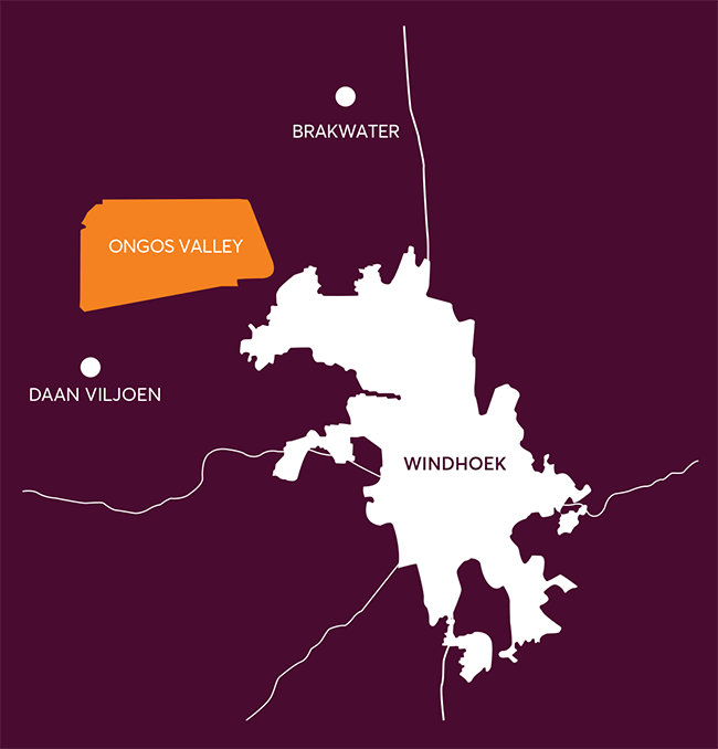 Ongos Valley Location